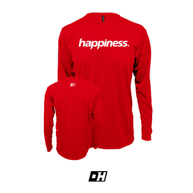 Red Happiness Long Sleeves
