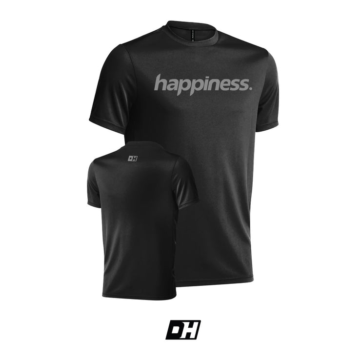 Black & Light Gray Happiness Jersey
