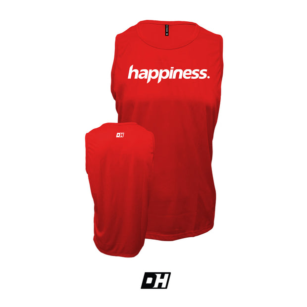 Red Happiness Tank