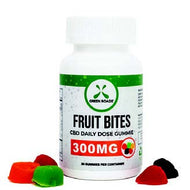 Assorted CBD Fruit Bites 300mg