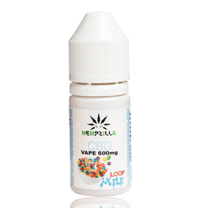Hempzilla Loop Milk Full Spectrum CBD Juice 600mg