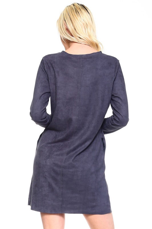 Aurora Tunic Dress with Pockets
