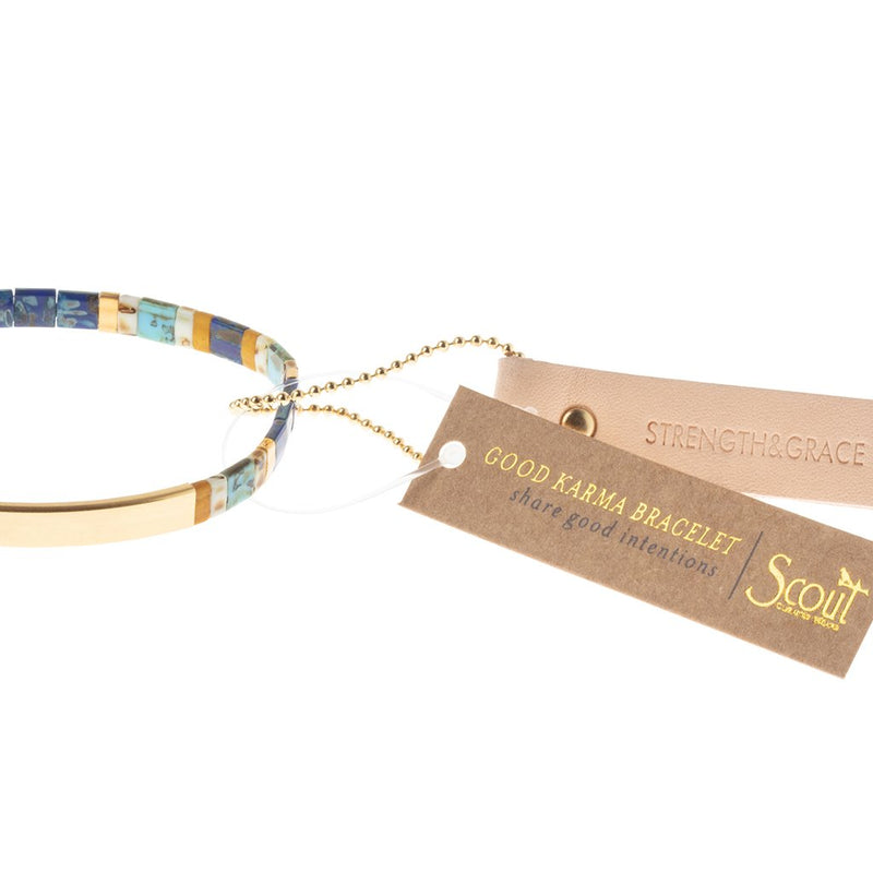 Good Karma Miyuki Bracelet- Stength and Grace