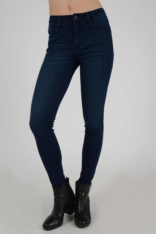 KanCan Mid Rise Skinny Ankle