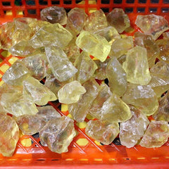 200g Pierres citrine et Quartz