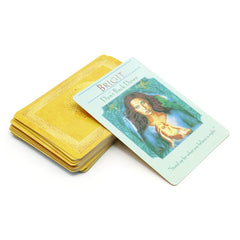 Anglais complet beauté oracle cartes  44 cartes