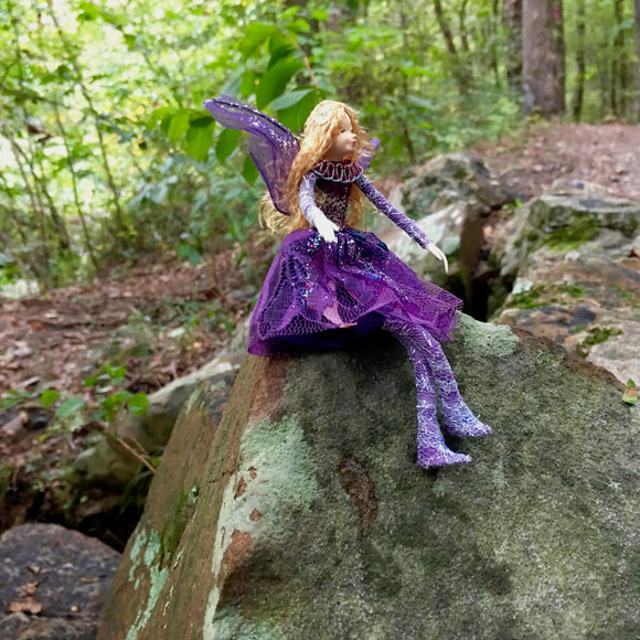 Fae Folk® World Winged Jewel Fairy Doll Passion
