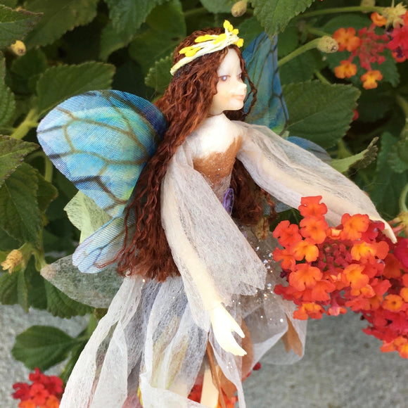 Fae Folk® World Winged Fairy Doll Saturn