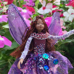 Fae Folk® World Winged Jewel Fairy Doll Seraphina