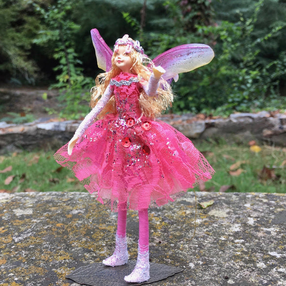 Fae Folk® World Winged Jewel Fairy Doll Sparklette
