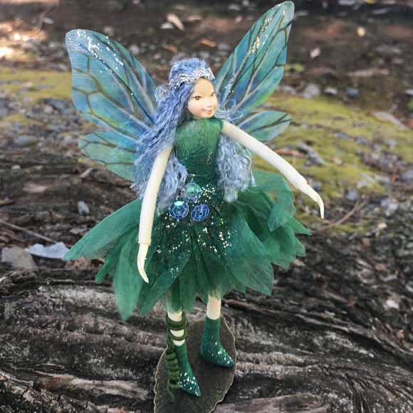 Fae Folk® World Winged Fairy Doll Tealya