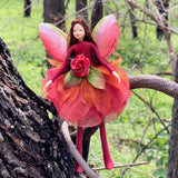 Fae Folk World Winged Flower Fairy Ember