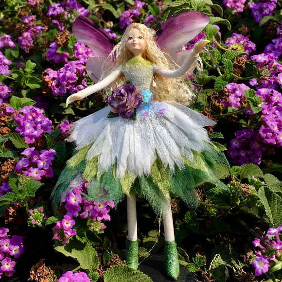 Fae Folk® World Winged Flower Fairy Doll Meadow