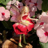 Fae Folk® World Winged Flower Fairy Velvet