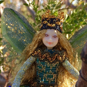 Fae Folk World Winged Jewel Fairy Doll Em