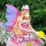Fae Folk World Winged Jewel Fairy Feather