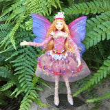Fae Folk World Winged Jewel Fairy Doll Feather