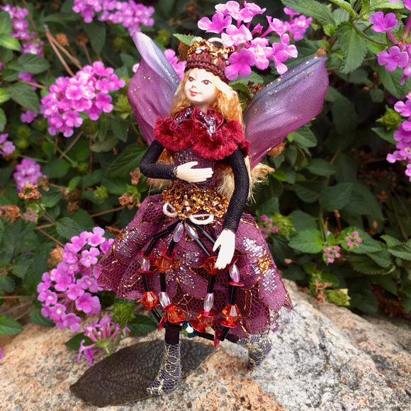 Fae Folk® World Winged Jewel Fairy Doll Majesty