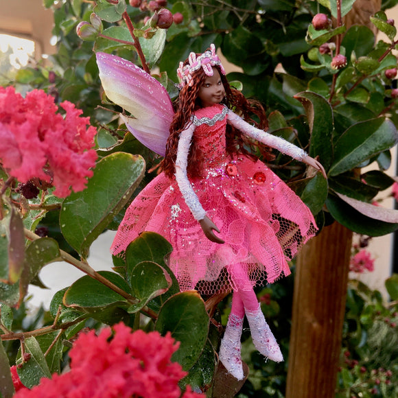 Fae Folk® World Winged Jewel Fairy Doll Tiana