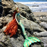 Fae Folk® World Mermaid Doll Oceano
