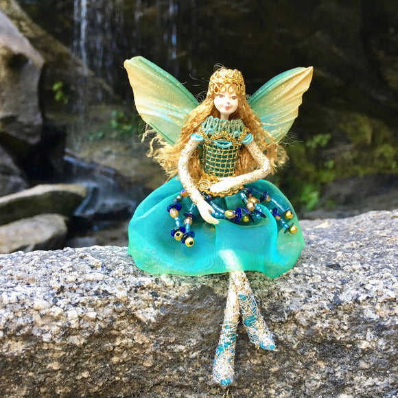 Fae Folk® Winged Fairy Doll AQUAFINA