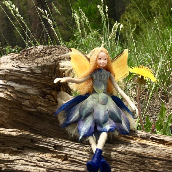 Fae Folk World Winged Flower Fairy Doll Calyx