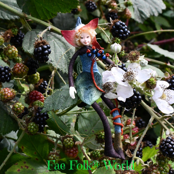 Fae Folk® Fairies - BLUEBERRIE