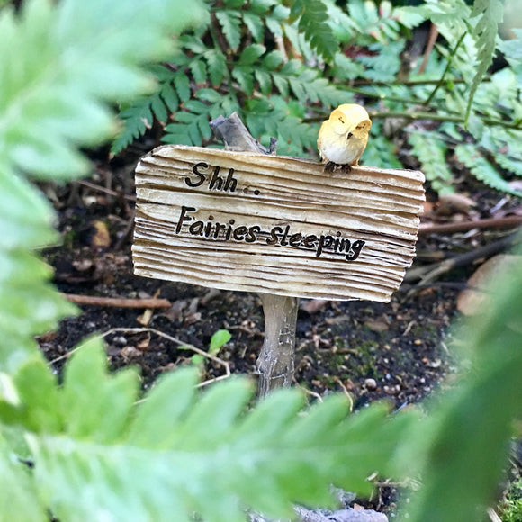Fairy Sign - Shh..Fairies Sleeping
