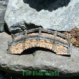 Fairy Garden Cobblestone Bridge