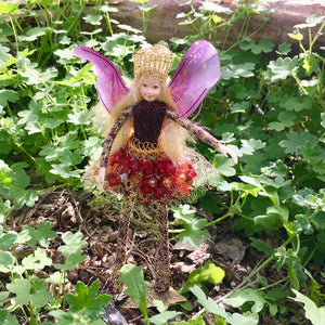 Fae Folk® World Winged Jewel Fairy Doll Jasper