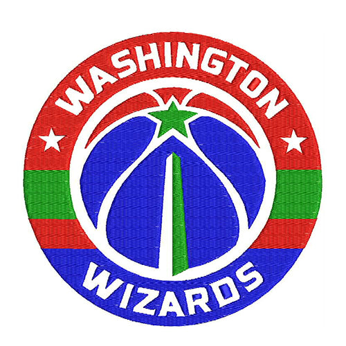 Washington Wizards Machine Embroidery Designs