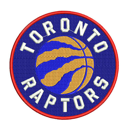 Toronto Raptors Logo Machine Embroidery Designs