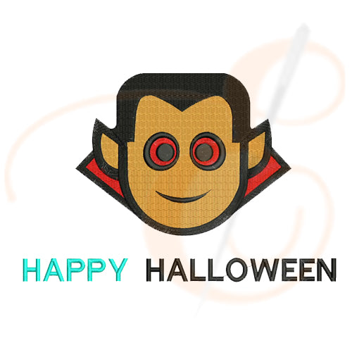 Happy halloween devil Machine Embroidery Designs