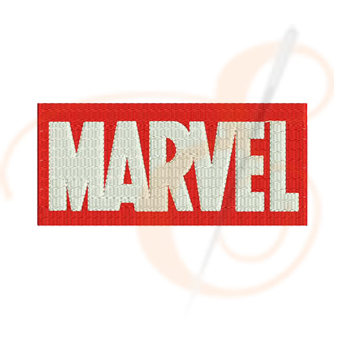 Marvel Logo Machine Embroidery Designs