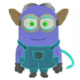 Alien Minion! Machine Embroidery Designs 44