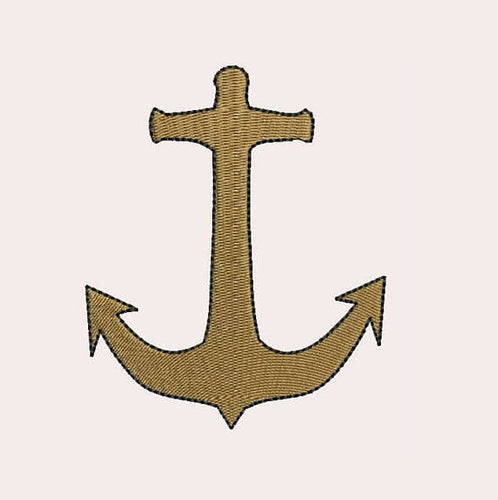 Anchor Machine Embroidery Designs - Instant Download Filled Stitches Design 179