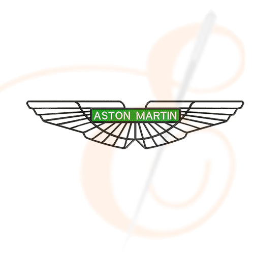 Aston Martin Logo Machine Embroidery Designs