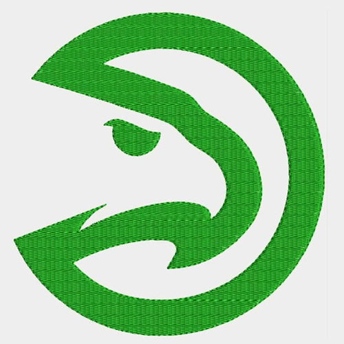 Atlanta Hawks Logo Machine Embroidery Designs