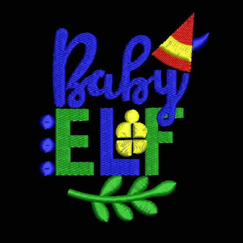 BABY ELF Machine Embroidery Designs