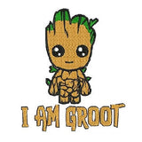 I Am Groot - Machine Embroidery Designs