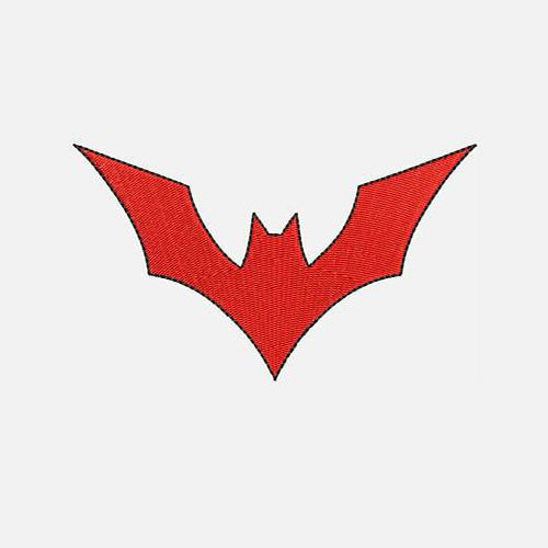 Batman Beyond Icon Machine Embroidery Designs