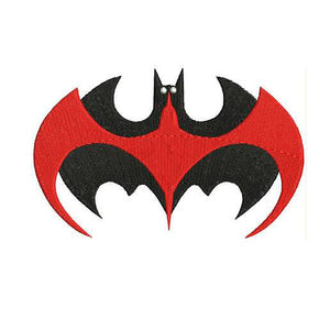 Batman and Robin Logo Machine Embroidery Designs - Instant Download Filled Stitches Design 214