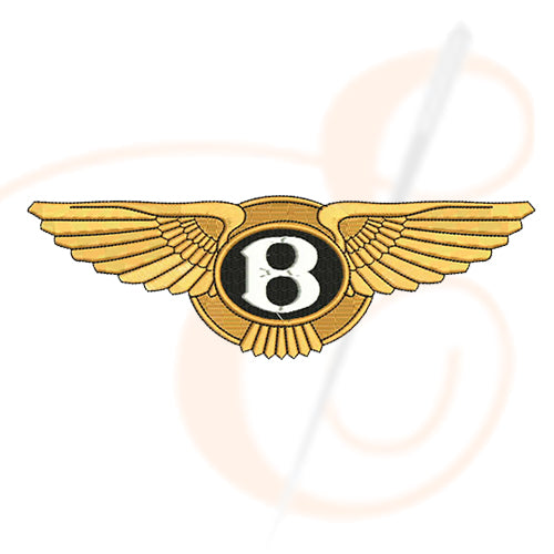 Bentley Logo Machine Embroidery Designs