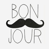 Bon Jour - Hello!, Hi! Machine Embroidery Designs 219