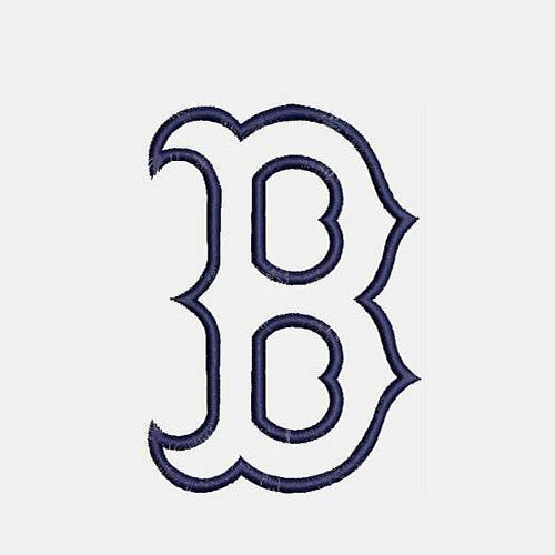 Boston Red Sox baseball Logo Machine Embroidery Designs