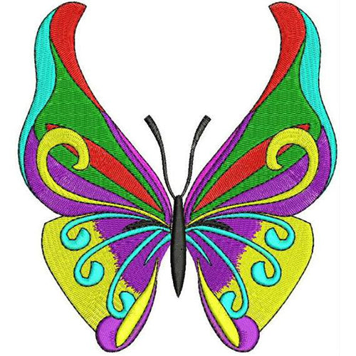 Butterfly Machine Embroidery Designs 19