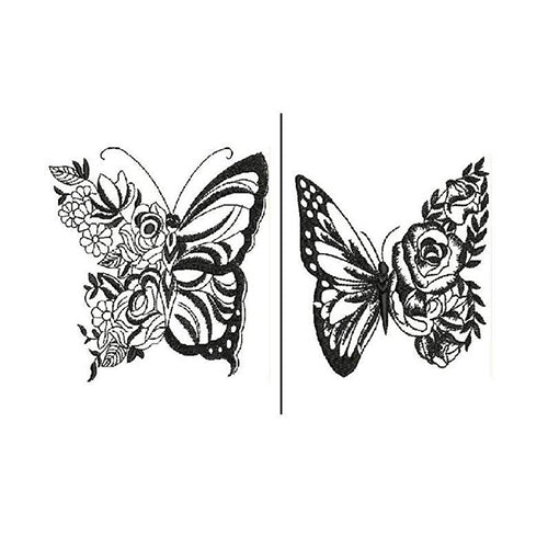 Butterfly Two Machine Embroidery Designs