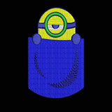 Camiseta Minions Machine Embroidery Designs 910