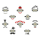 Cartoon Faces Machine Embroidery Designs 1845