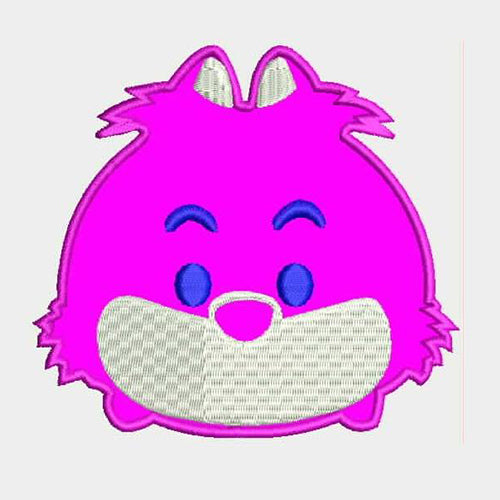 Cheshire Cat Tsum Tsum Machine Embroidery Designs 802